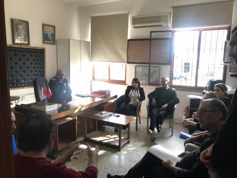 Cezaevi'inde mahkumlara yönelik kurslar başlatılmıştır