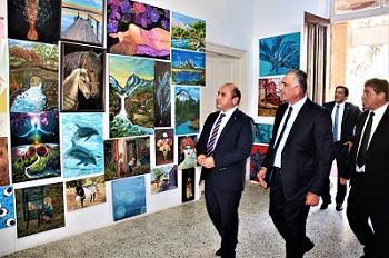 Girne Turizm Meslek Lisesi Yıl Sonu Sergisi