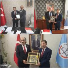 Müdürümüz Aytunç Şirket'in 24-26 Nisan tarihleri arasında Ankara'da temaslarda bulundu.