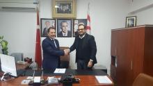 Otelciler Birliği Başkanı Dimağ Çağıner ile protokol imzalanmıştır